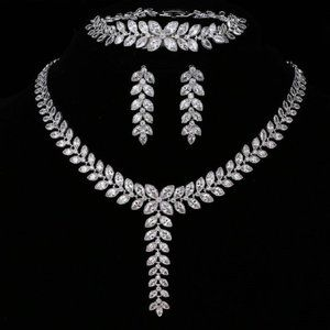 Brilliant Bridal 3 Pcs Jewelry Set